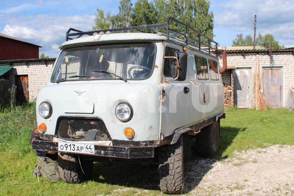 Подержанный УАЗ 452, среднее состояние, серый , 1999 года выпуска, цена 120 000 руб. в Костромской области