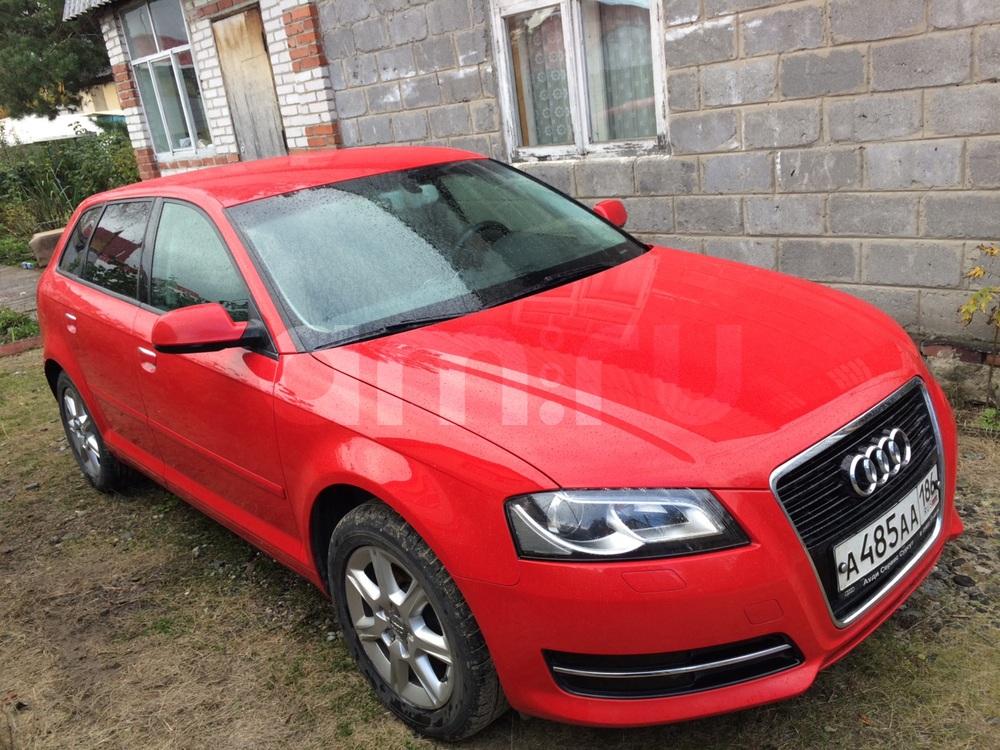 Подержанный Audi A3, отличное состояние, красный , 2012 года выпуска, цена 700 000 руб. в ао. Ханты-Мансийском Автономном округе - Югре