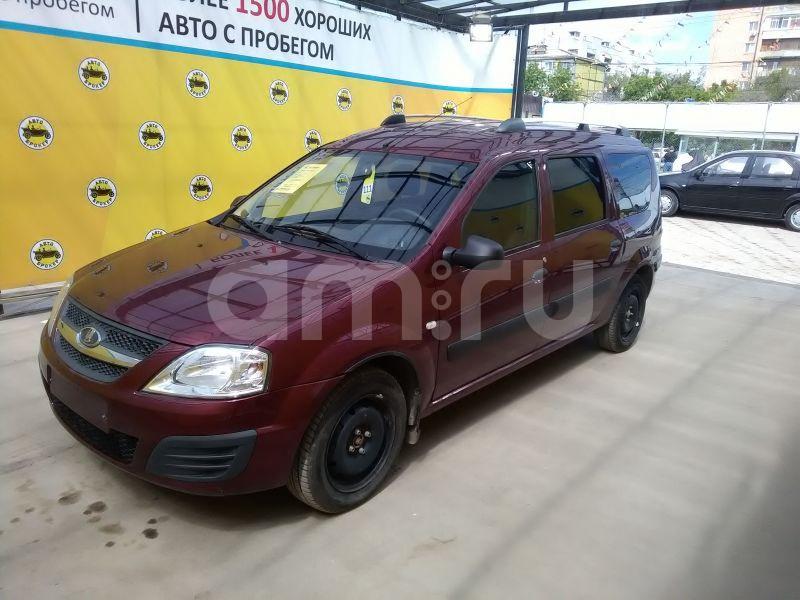 ВАЗ (Lada) Largus с пробегом, бордовый , отличное состояние, 2015 года выпуска, цена 430 000 руб. в автосалоне  ()