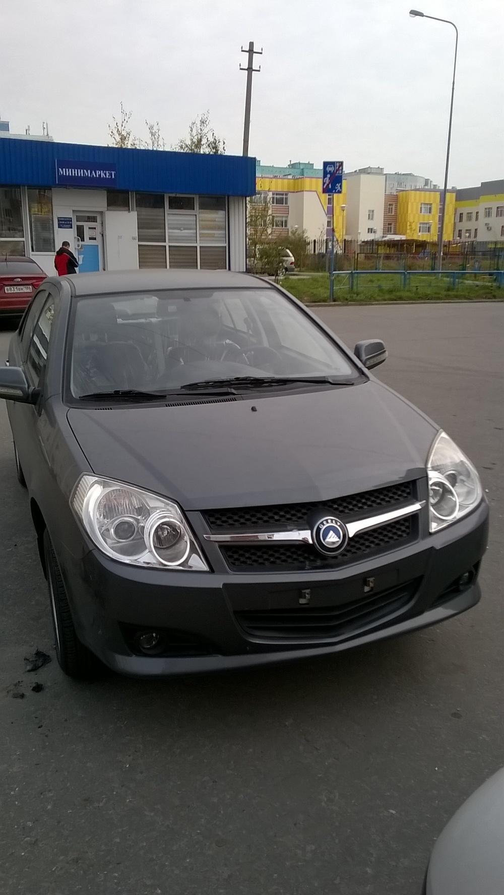 Подержанный Geely MK, отличное состояние, серый , 2015 года выпуска, цена 350 000 руб. в ао. Ханты-Мансийском Автономном округе - Югре