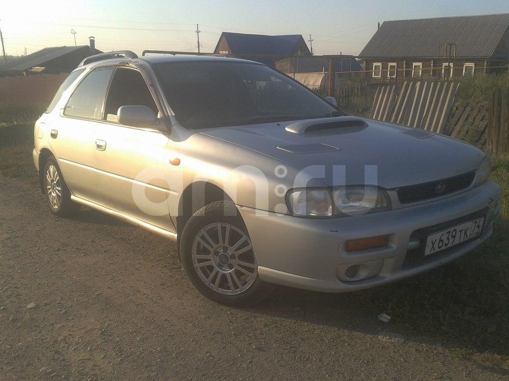 Подержанный Subaru Impreza, хорошее состояние, серебряный металлик, 1997 года выпуска, цена 158 000 руб. в Челябинской области
