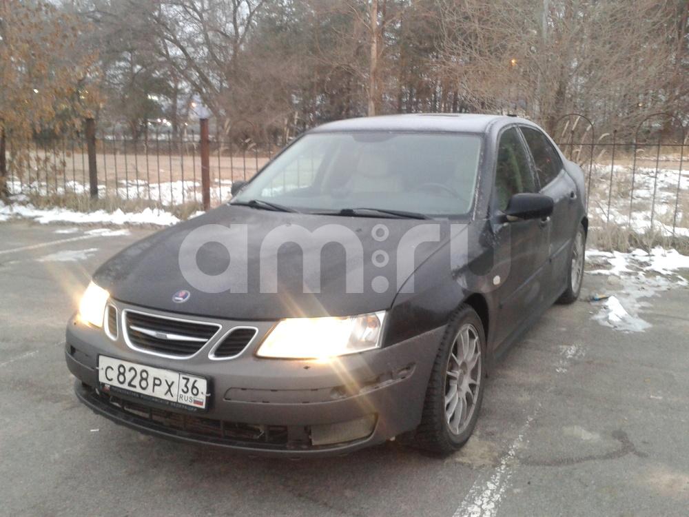 Подержанный Saab 9-3, среднее состояние, черный , 2003 года выпуска, цена 260 000 руб. в Воронежской области