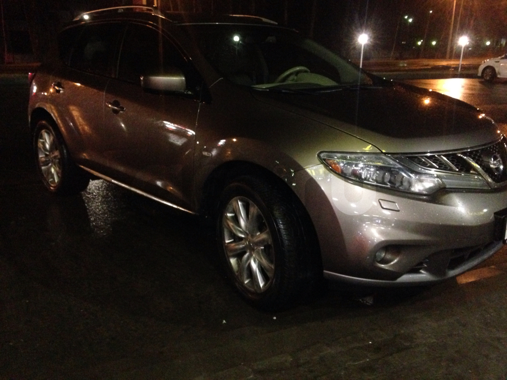 Подержанный Nissan Murano, отличное состояние, бежевый металлик, 2012 года выпуска, цена 1 100 000 руб. в Тверской области