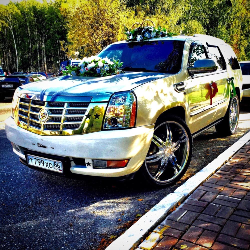Подержанный Cadillac Escalade, отличное состояние, белый перламутр, 2011 года выпуска, цена 1 550 000 руб. в ао. Ханты-Мансийском Автономном округе - Югре