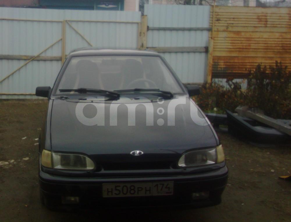 Подержанный ВАЗ (Lada) 2115, хорошее состояние, мокрый асфальт , 2007 года выпуска, цена 110 000 руб. в Челябинской области