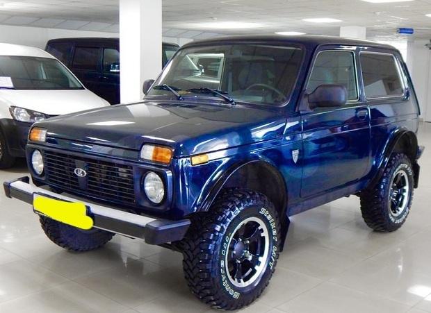 Подержанный ВАЗ (Lada) 4x4, отличное состояние, синий , 2013 года выпуска, цена 380 000 руб. в Челябинской области