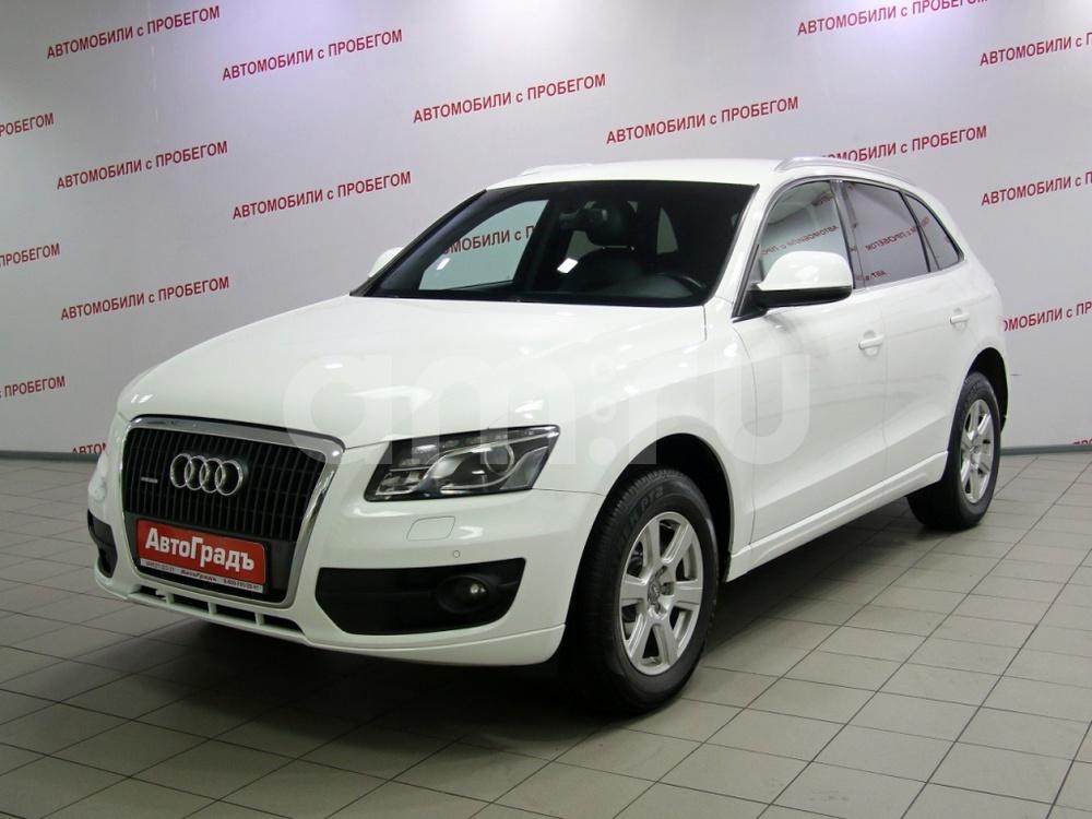 Audi Q5 с пробегом, белый , отличное состояние, 2010 года выпуска, цена 789 000 руб. в автосалоне АвтоГрадъ (Москва, ш. Варшавское, д. 170Г)