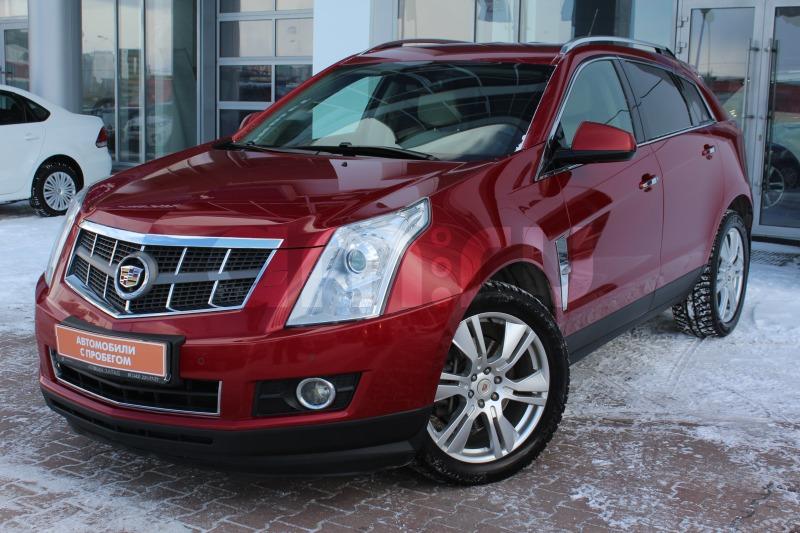 Cadillac SRX с пробегом, красный , отличное состояние, 2010 года выпуска, цена 879 000 руб. в автосалоне Автобан-Запад (Екатеринбург, ул. Металлургов, д. 67)