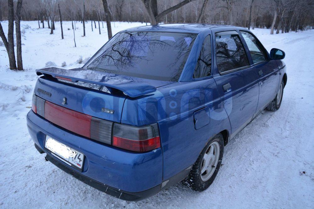 Подержанный ВАЗ (Lada) 2110, отличное состояние, синий , 2002 года выпуска, цена 70 000 руб. в Челябинской области