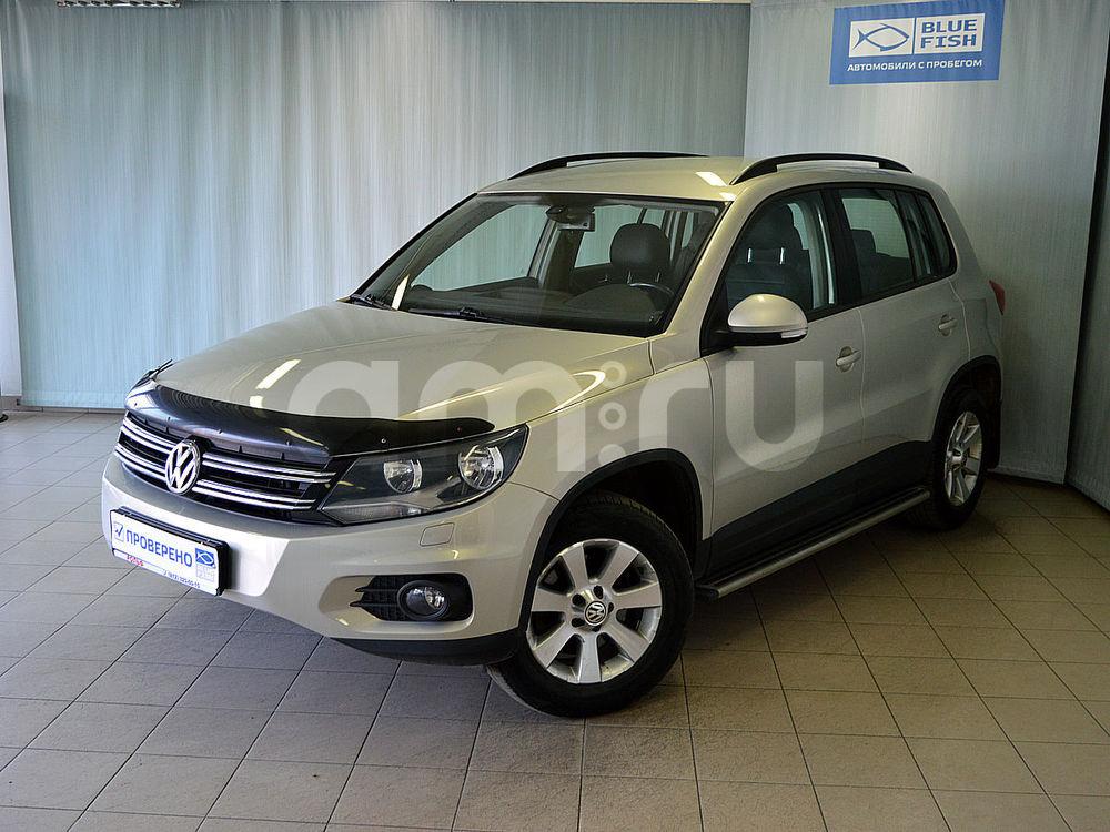 Volkswagen Tiguan с пробегом, серебряный , отличное состояние, 2013 года выпуска, цена 999 000 руб. в автосалоне  ()