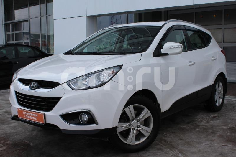 Hyundai ix35 с пробегом, белый , отличное состояние, 2011 года выпуска, цена 889 000 руб. в автосалоне Автобан-Запад (Екатеринбург, ул. Металлургов, д. 67)