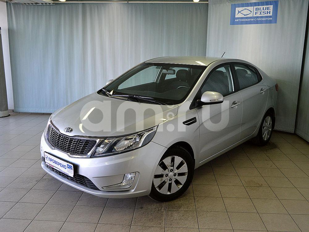 Kia Rio с пробегом, серебряный , отличное состояние, 2013 года выпуска, цена 499 000 руб. в автосалоне  ()