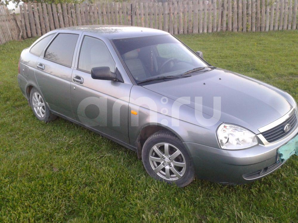 Подержанный ВАЗ (Lada) Priora, отличное состояние, серебряный , 2011 года выпуска, цена 220 000 руб. в Челябинской области