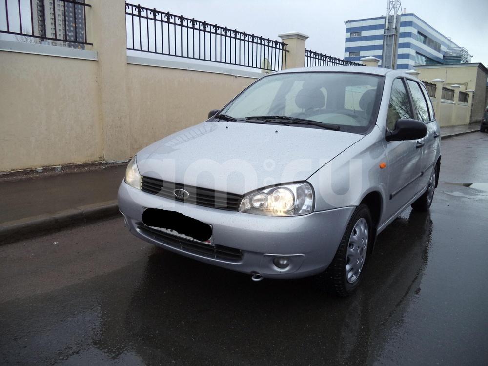 ВАЗ (Lada) Kalina с пробегом, серебряный , отличное состояние, 2008 года выпуска, цена 168 000 руб. в автосалоне  ()