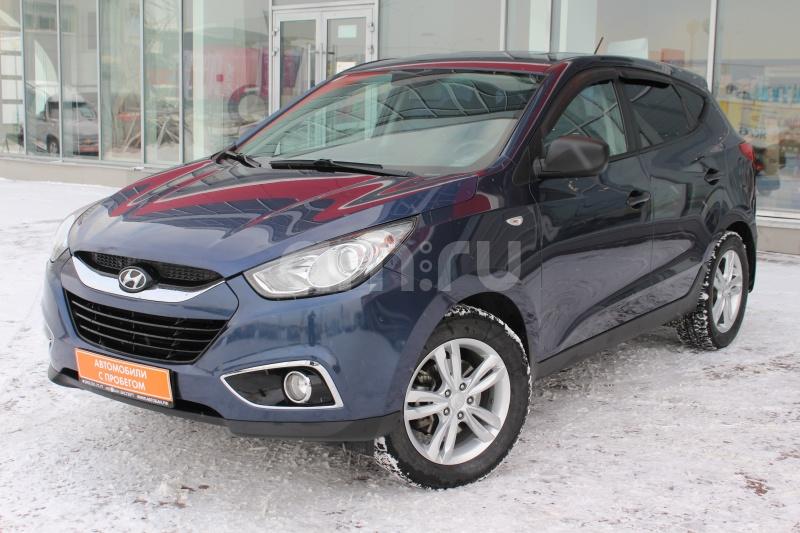 Hyundai ix35 с пробегом, синий , отличное состояние, 2010 года выпуска, цена 590 000 руб. в автосалоне  ()