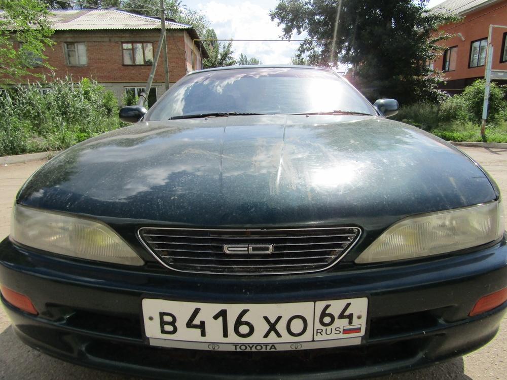 Подержанный Toyota Carina, хорошее состояние, зеленый металлик, 1994 года выпуска, цена 125 000 руб. в Саратове