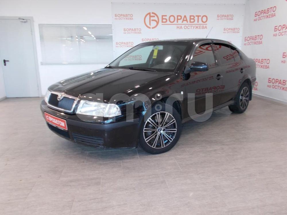 Skoda Octavia с пробегом, черный , отличное состояние, 2007 года выпуска, цена 297 000 руб. в автосалоне  ()