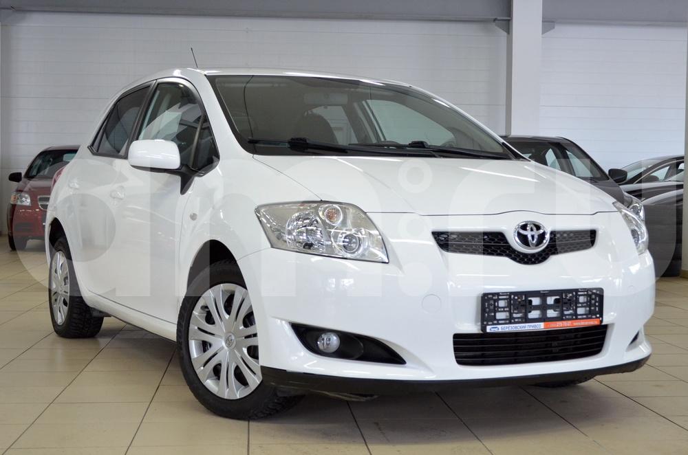 Toyota Auris с пробегом, белый , отличное состояние, 2008 года выпуска, цена 449 000 руб. в автосалоне Березовский привоз (Екатеринбург, тракт Березовский, д. 4Б)