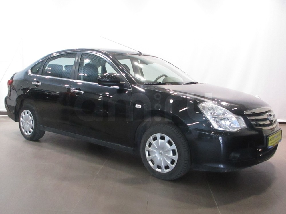 Nissan Almera с пробегом, черный металлик, хорошее состояние, 2014 года выпуска, цена 435 000 руб. в автосалоне Мотор-Эксперт (Киров, ул. Московская, д. 106А)