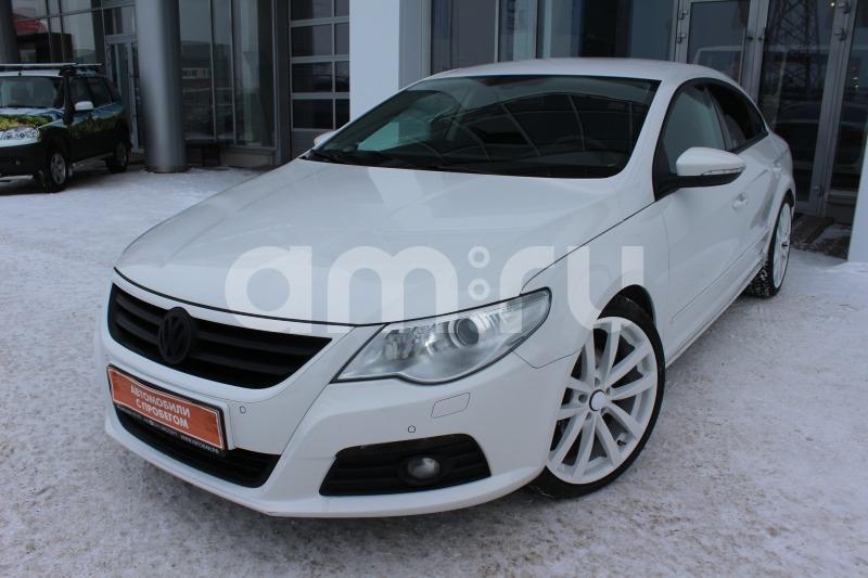 Volkswagen Passat CC с пробегом, белый , отличное состояние, 2011 года выпуска, цена 655 000 руб. в автосалоне  ()