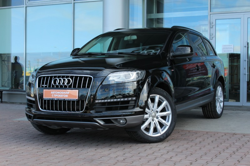 Audi Q7 с пробегом, черный , отличное состояние, 2013 года выпуска, цена 2 050 000 руб. в автосалоне Автобан-Запад (Екатеринбург, ул. Металлургов, д. 67)