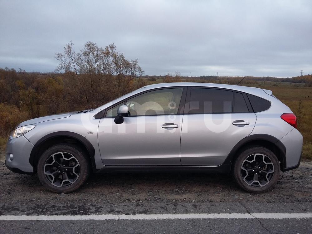 Подержанный Subaru XV, отличное состояние, серебряный , 2012 года выпуска, цена 890 000 руб. в ао. Ханты-Мансийском Автономном округе - Югре