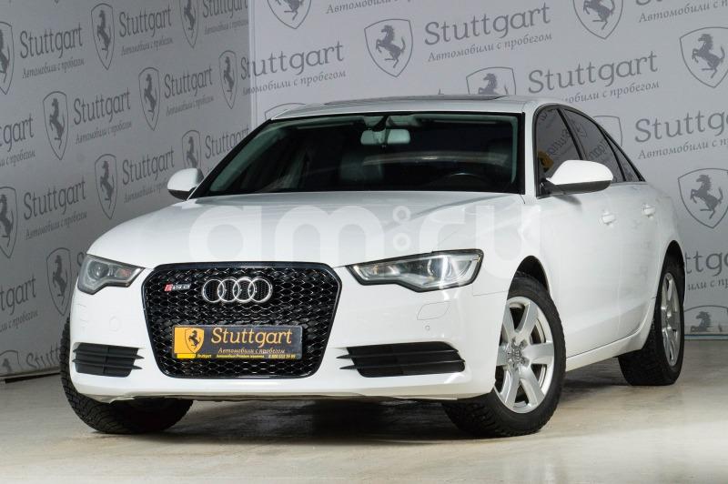 Audi A6 с пробегом, белый , отличное состояние, 2011 года выпуска, цена 1 080 000 руб. в автосалоне  ()