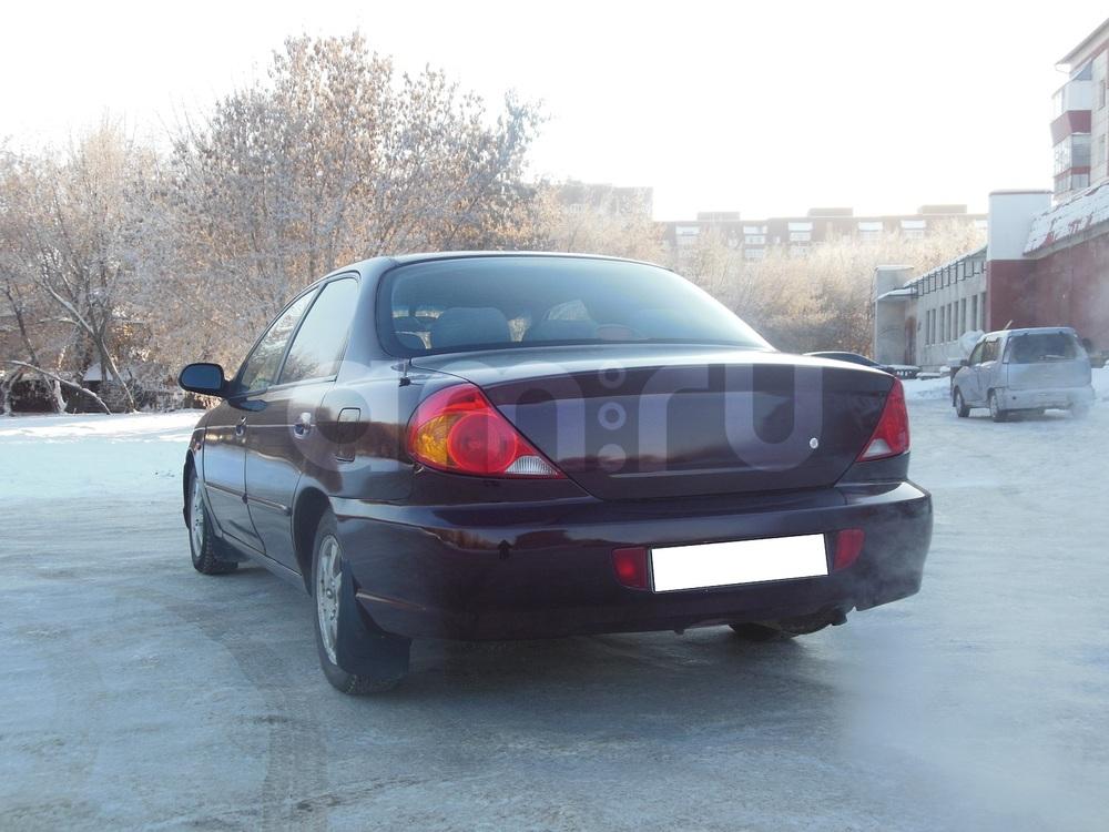 Kia Spectra с пробегом, бордовый металлик, хорошее состояние, 2008 года выпуска, цена 227 000 руб. в автосалоне  ()