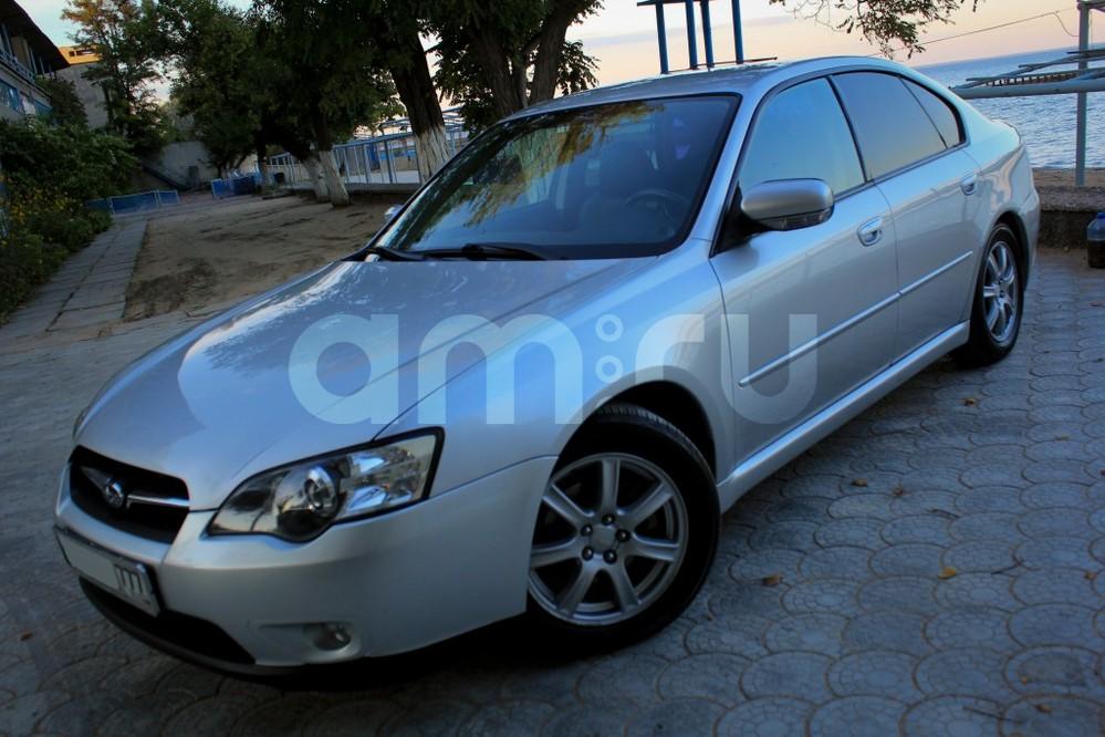Подержанный Subaru Legacy, отличное состояние, серебряный , 2006 года выпуска, цена 420 000 руб. в Крыму