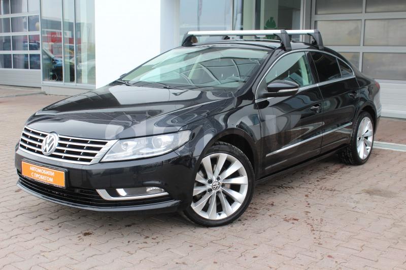 Volkswagen Passat CC с пробегом, черный , отличное состояние, 2012 года выпуска, цена 889 000 руб. в автосалоне Автобан-Запад (Екатеринбург, ул. Металлургов, д. 67)