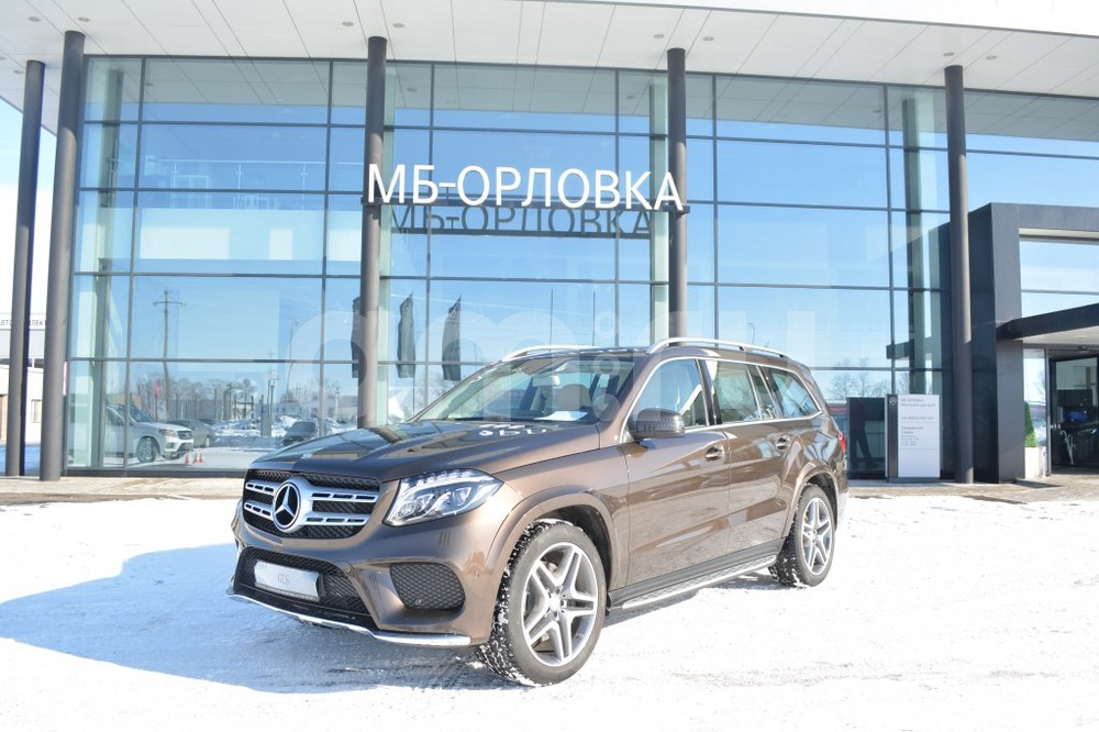 Новый авто Mercedes-Benz GLS-класс, коричневый металлик, 2017 года выпуска, цена 5 661 401 руб. в автосалоне МБ-Орловка (Набережные Челны, тракт Мензелинский, д. 24)