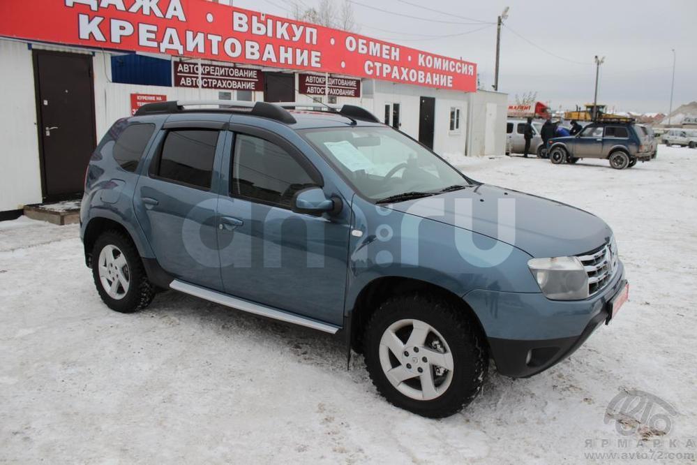 Renault Duster с пробегом, синий , отличное состояние, 2012 года выпуска, цена 625 000 руб. в автосалоне  ()