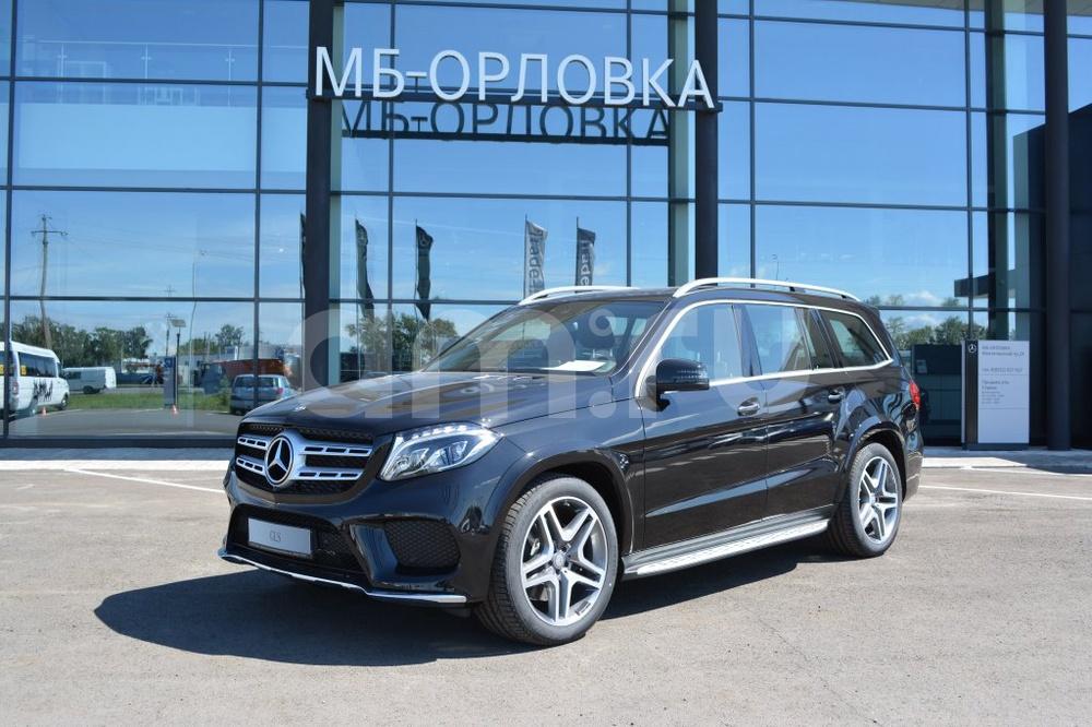 Новый авто Mercedes-Benz GLS-класс, черный металлик, 2016 года выпуска, цена 5 722 000 руб. в автосалоне МБ-Орловка (Набережные Челны, тракт Мензелинский, д. 24)