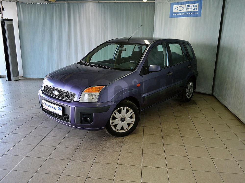 Ford Fusion с пробегом, фиолетовый , отличное состояние, 2008 года выпуска, цена 299 000 руб. в автосалоне  ()