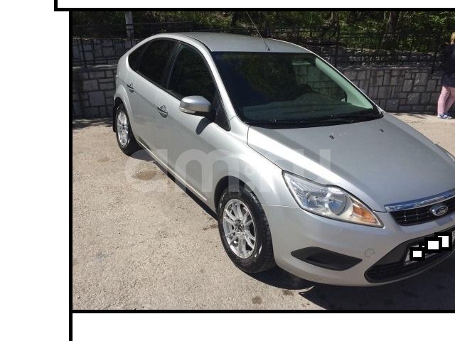 Подержанный Ford Focus, отличное состояние, серебряный , 2008 года выпуска, цена 365 000 руб. в Крыму