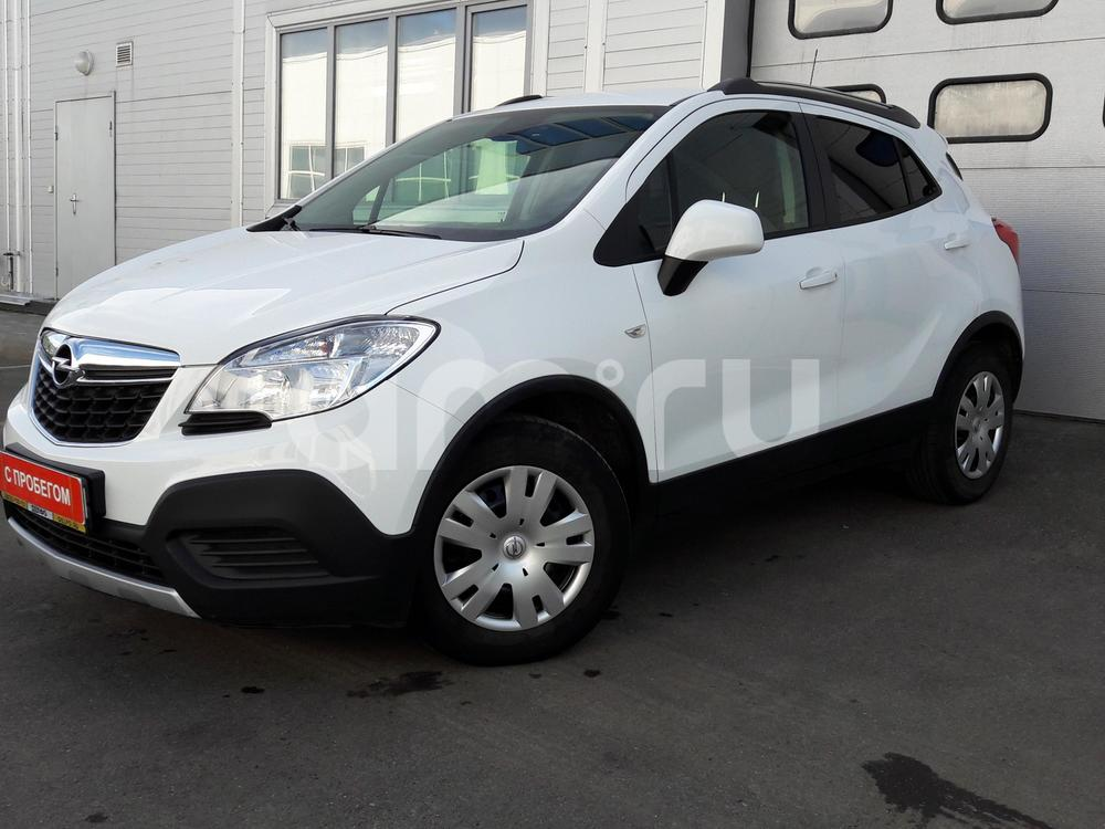 Opel Mokka с пробегом, белый , отличное состояние, 2012 года выпуска, цена 595 000 руб. в автосалоне МАРКА Казань (Казань, ул. Маршала Чуйкова, д. 54Б)