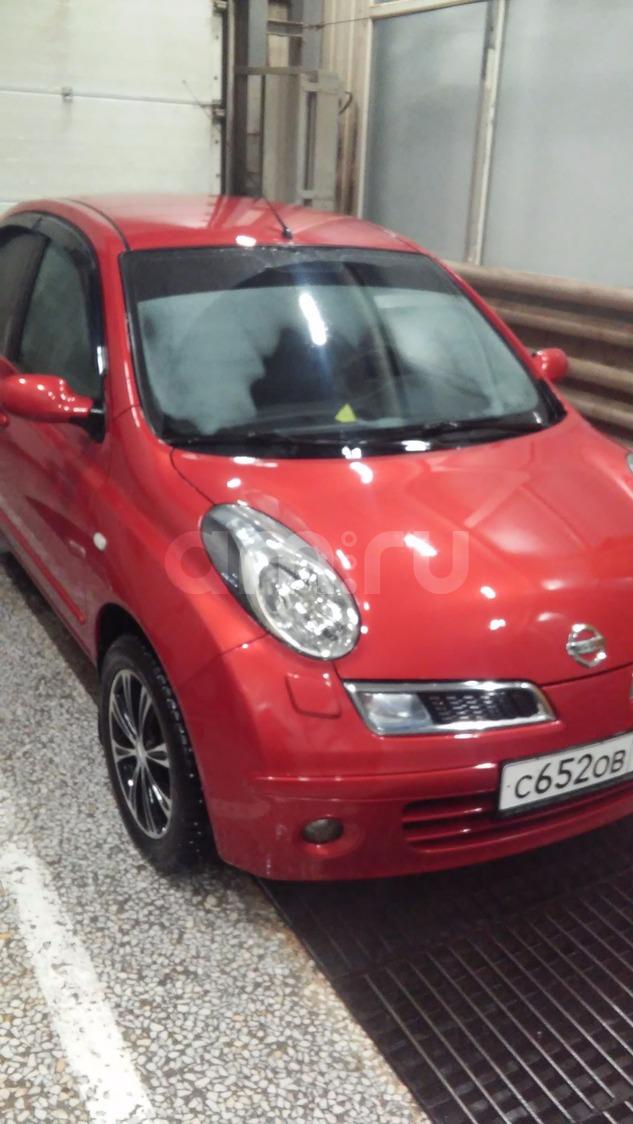 Подержанный Nissan Micra, отличное состояние, красный , 2008 года выпуска, цена 355 000 руб. в республике Татарстане