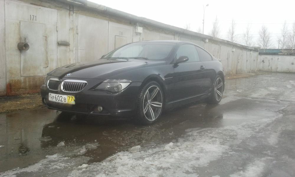 Подержанный BMW 6 серия, хорошее состояние, черный , 2006 года выпуска, цена 800 000 руб. в ао. Ханты-Мансийском Автономном округе - Югре