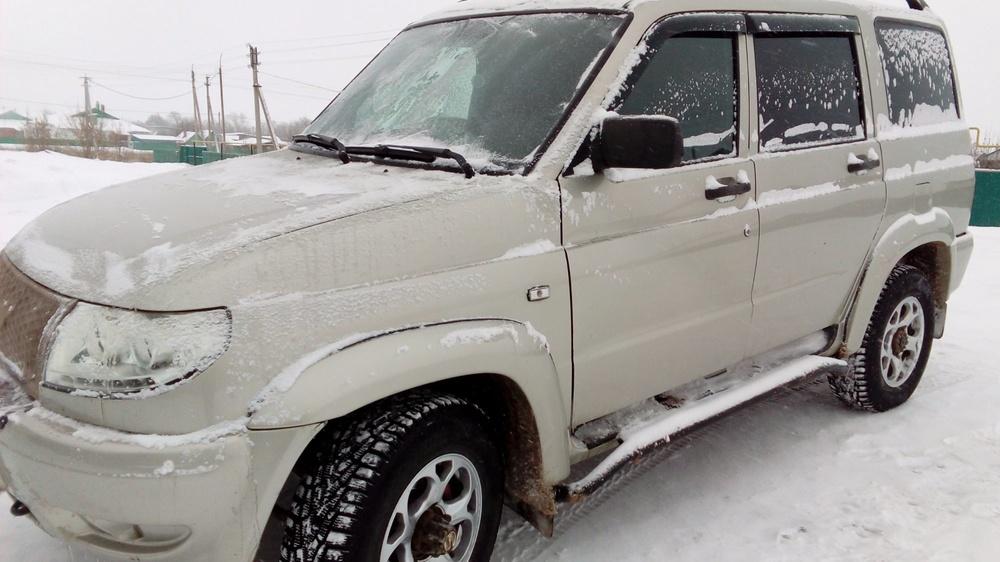 Подержанный УАЗ Patriot, отличное состояние, бежевый металлик, 2013 года выпуска, цена 510 000 руб. в республике Татарстане