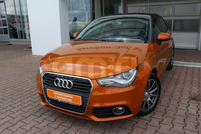 Audi A1 с пробегом, оранжевый , отличное состояние, 2013 года выпуска, цена 789 000 руб. в автосалоне Автобан-Запад (Екатеринбург, ул. Металлургов, д. 67)
