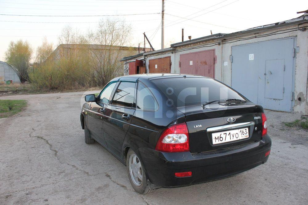 Подержанный ВАЗ (Lada) Priora, отличное состояние, черный , 2010 года выпуска, цена 220 000 руб. в Самаре