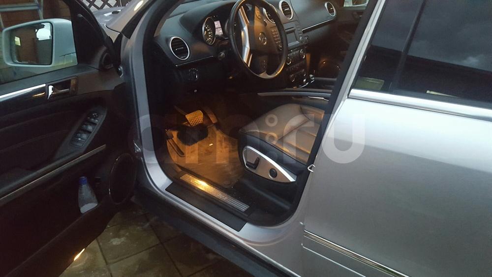 Подержанный Mercedes-Benz GL-Класс, отличное состояние, голубой перламутр, 2011 года выпуска, цена 1 800 000 руб. в Челябинской области