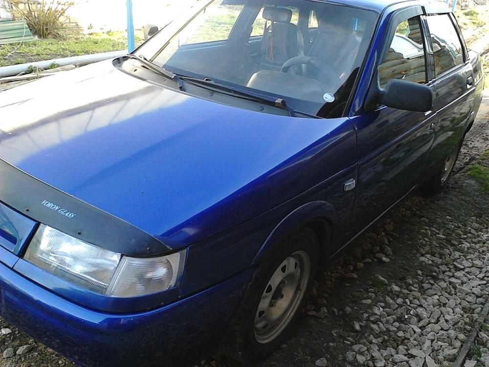 Подержанный ВАЗ (Lada) 2110, хорошее состояние, синий металлик, 2003 года выпуска, цена 80 000 руб. в Нижнем Новгороде