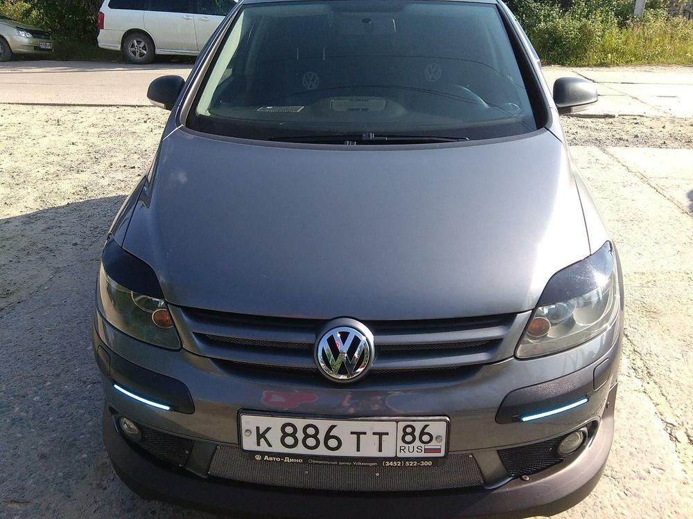 Подержанный Volkswagen Golf, хорошее состояние, мокрый асфальт металлик, 2007 года выпуска, цена 400 000 руб. в ао. Ханты-Мансийском Автономном округе - Югре