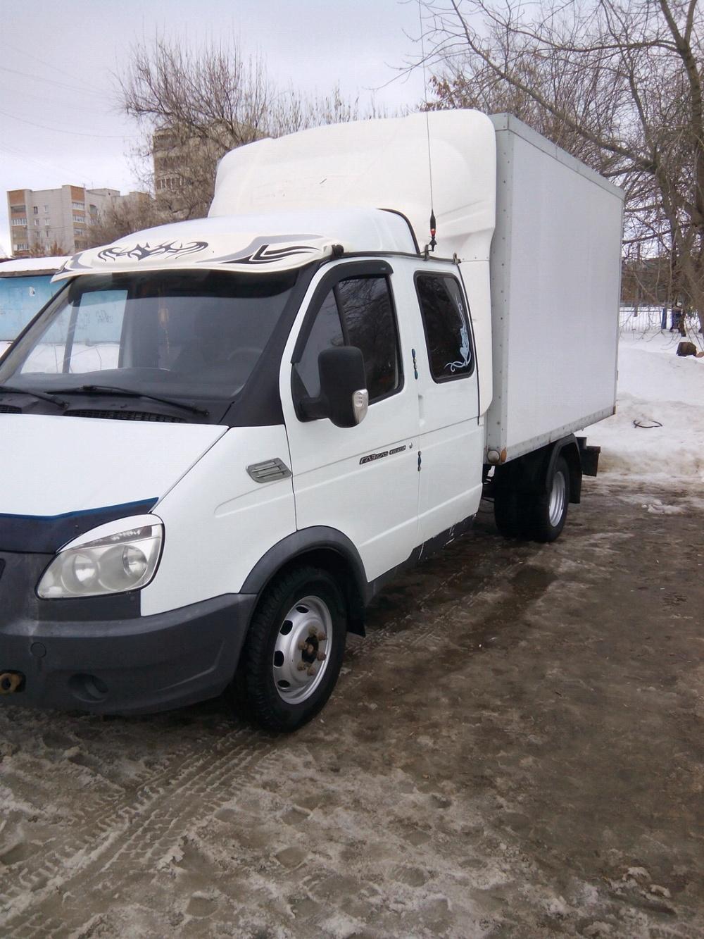Подержанный ГАЗ Газель, отличное состояние, белый , 2012 года выпуска, цена 550 000 руб. в Ульяновске