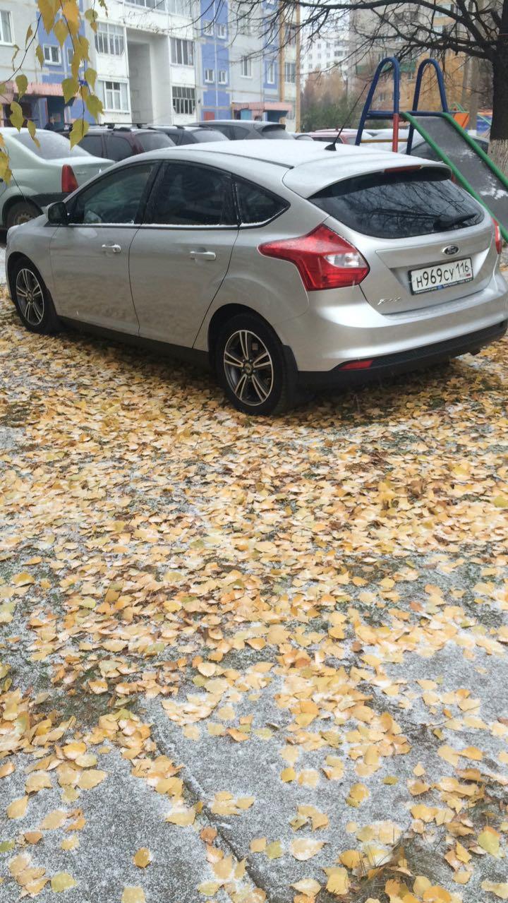Подержанный Ford Focus, отличное состояние, серебряный , 2012 года выпуска, цена 520 000 руб. в республике Татарстане