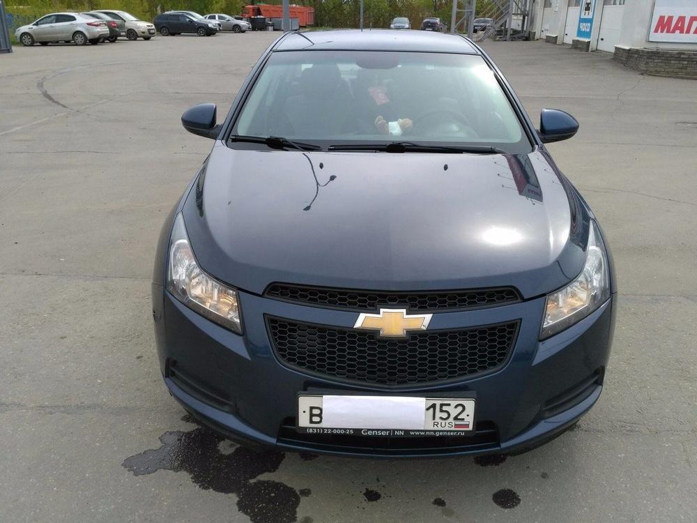 Подержанный Chevrolet Cruze, отличное состояние, синий , 2010 года выпуска, цена 350 000 руб. в Нижнем Новгороде