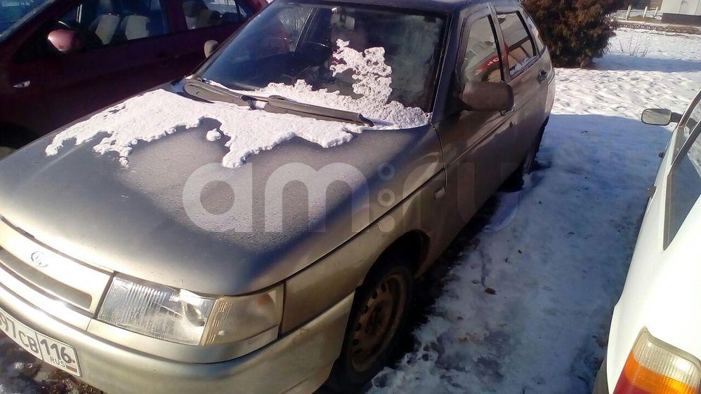 Подержанный ВАЗ (Lada) 2112, среднее состояние, серебряный , 2003 года выпуска, цена 60 000 руб. в республике Татарстане