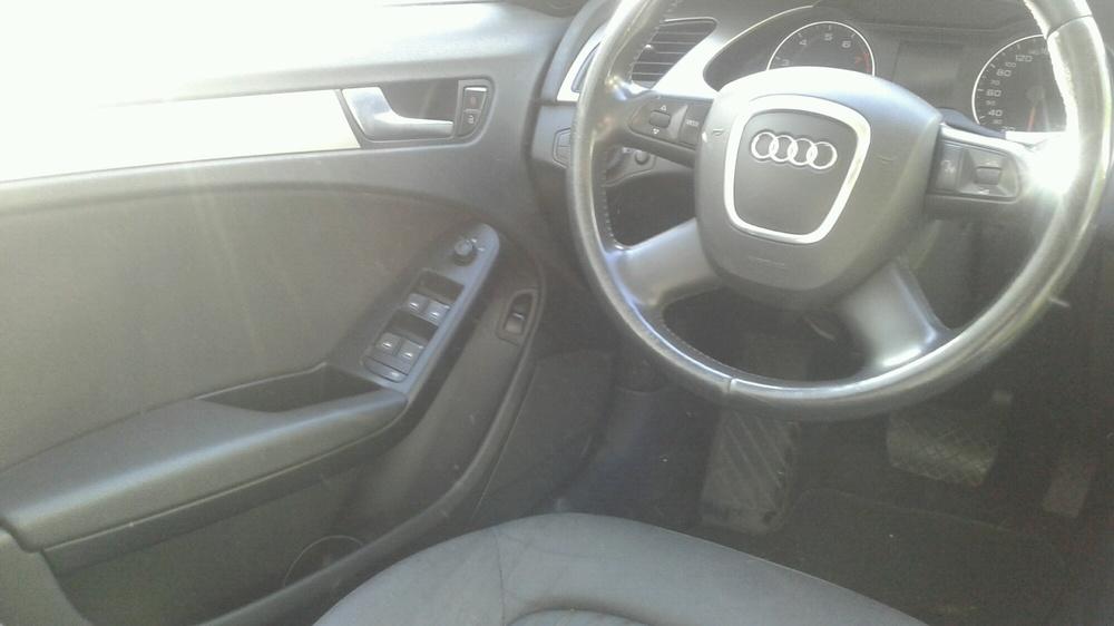 Подержанный Audi A4, хорошее состояние, черный , 2008 года выпуска, цена 530 000 руб. в Самаре