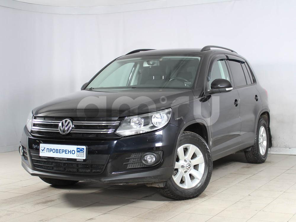 Volkswagen Tiguan с пробегом, черный , отличное состояние, 2012 года выпуска, цена 719 000 руб. в автосалоне РОЛЬФ Лахта Blue Fish (Санкт-Петербург, ул. Савушкина, д. 103)